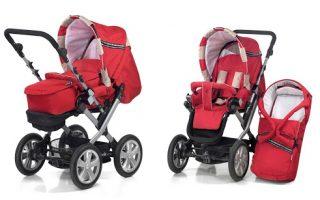 Детские коляски — первый транспорт