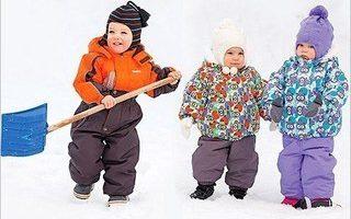 Как выбрать зимнюю одежду детям