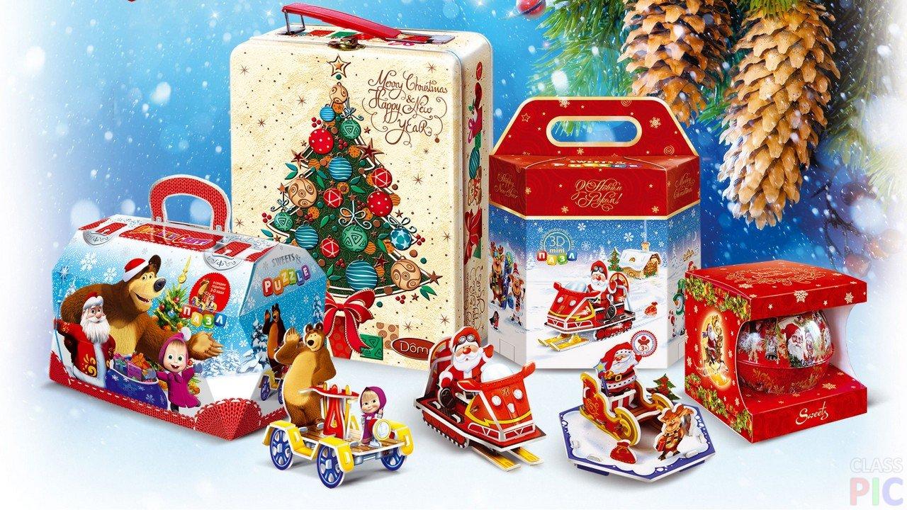 детский новогодний подарок