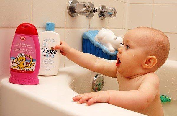 шампунь для малыша