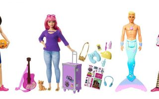 Игрушки маленькой модницы куклы