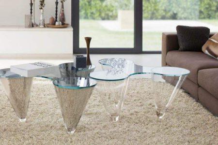 Стеклянная мебель в современном интерьере